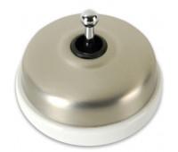Выключатель тумблерный двухполюсный Fontini DIMBLER, хром, 60314562
