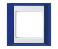 Рамка 1 пост Jung A PLUS, синий, AP581BLWW