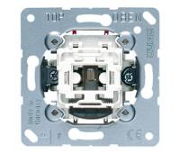 Механизм выключателя 1-клавишного трехполюсного Jung коллекции JUNG с подсветкой, 503KOU