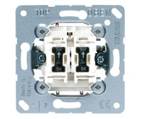 Механизм выключателя 2-клавишного Jung коллекции JUNG с подсветкой, 505KOU5