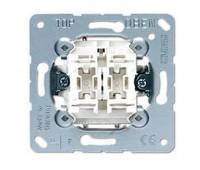 Механизм выключателя для жалюзи Jung коллекции JUNG, механический, 509VU