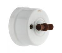Выключатель поворотный Fontini GARBY, белый, 30306212