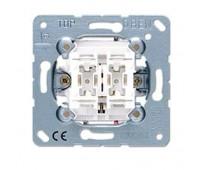 Механизм кнопочного выключателя для жалюзи Jung коллекции JUNG, механический, 539VU