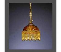 Подвесной светильник La Lampada SOSP 377/1.26 Ambra   Золото (пр-во Италия)