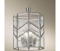 Подвесной светильник  Cremasco 925/4S-GR-CR.cm  Хром (пр-во Италия)