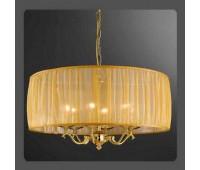 Подвесной светильник La Lampada L 999/8.26 Organza   Золото (пр-во Италия)