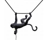 Подвесной светильник  Seletti Monkey 14916  Черный (пр-во Италия)