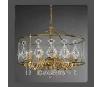 Подвесной светильник La Lampada L 1303/12.26 * 65 Maria Trasp   Золото (пр-во Италия)