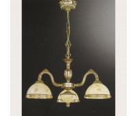 Люстра Reccagni Angelo L 6308/3  Французское золото (пр-во Италия)