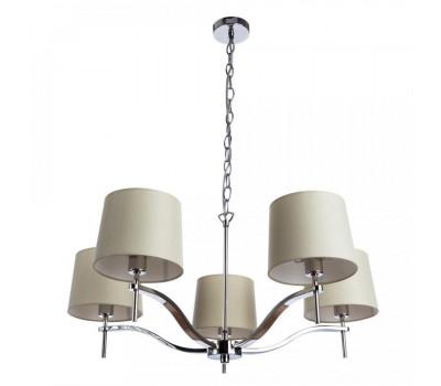 5112, Светильник подвесной Arte Lamp 1341/02 LM-5 SOPRANO  Хром (пр-во Италия), 1341/02 LM-5 SOPRANO, Arte Lamp, Люстры