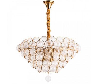 5072, Светильник подвесной Arte Lamp 1852/17 LM-12 MALLIKA  Золото (пр-во Италия), 1852/17 LM-12 MALLIKA, Arte Lamp, Люстры