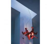 Подвесной светильник Pallucco GLO 011 017693  Хром (пр-во Италия)