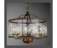 Подвесной светильник La Lampada L 386/12.40 Noce   Бронза (пр-во Италия)