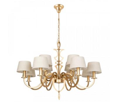 5121, Светильник подвесной Arte Lamp 6819/19 SP-12 FLORENCE  Золото (пр-во Италия), 6819/19 SP-12 FLORENCE, Arte Lamp, Люстры