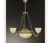 Люстра Reccagni Angelo L 6358/3+3  Французское золото (пр-во Италия)