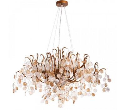 5047, Светильник подвесной Arte Lamp 7288/18 SP-12 SPUMANTE  Коричневого цвета с потертостями  (пр-во Италия), 7288/18 SP-12 SPUMANTE, Arte Lamp, Люстры