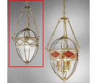 Подвесной светильник  Cremasco 2075/1S-BR.c.sm  Бронза (пр-во Италия)