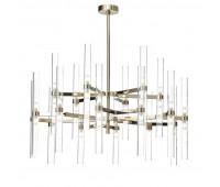 Подвесной светильник Luxury IL Paralume Marina Chandeliers 2218/CH18+18  Бледно-золотой (пр-во Италия)