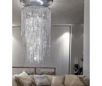 Подвесной светильник Rugiano 8064/BIG  Хром (пр-во Италия)