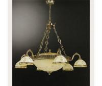 Люстра Reccagni Angelo L 6308/6+4  Французское золото (пр-во Италия)