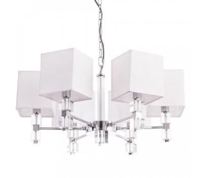 5076, Светильник подвесной Arte Lamp A5896LM-6CC NORTH  Хром (пр-во Италия), A5896LM-6CC NORTH, Arte Lamp, Люстры