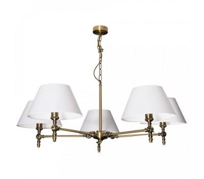 5099, Светильник подвесной Arte Lamp A5620LM-5AB ORLANDO  Античная бронза (пр-во Италия), A5620LM-5AB ORLANDO, Arte Lamp, Люстры
