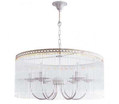 5126, Светильник подвесной Arte Lamp A9446SP-6WG SUSANNA  Бело-золотой (пр-во Италия), A9446SP-6WG SUSANNA, , Люстры