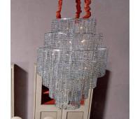 Подвесной светильник Rugiano 8096/100  Хром (пр-во Италия)