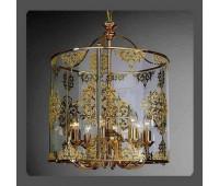 Подвесной светильник La Lampada L 390/8.26   Золото (пр-во Италия)