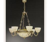 Люстра Reccagni Angelo L 6358/6+3  Французское золото (пр-во Италия)