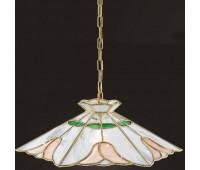 Подвесной светильник  Cremasco 1041/1S-OL.bn.ve.sa  Золото (пр-во Италия)