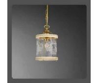 Подвесной светильник La Lampada SOSP 386/1.26 Ivory  Золото (пр-во Италия)