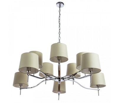 5033, Светильник подвесной Arte Lamp 1341/02 LM-10 SOPRANO  Хром (пр-во Италия), 1341/02 LM-10 SOPRANO, Arte Lamp, Люстры