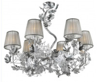 Подвесной светильник Luxury IL Paralume Marina Chandeliers 2171/CH6/AR серебро  Серебро (пр-во Италия)