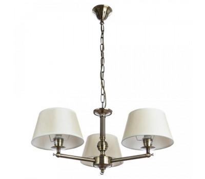 5165, Светильник подвесной Arte Lamp A2273LM-3AB YORK  Античная бронза (пр-во Италия), A2273LM-3AB YORK, Arte Lamp, Люстры