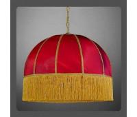 Подвесной светильник La Lampada L 389/8.26 Bordo Shade*60   Золото (пр-во Италия)
