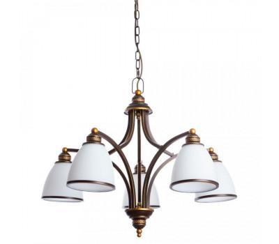 5127, Светильник подвесной Arte Lamp A9518LM-5BA BONITO  Античный чёрный (пр-во Италия), A9518LM-5BA BONITO, Arte Lamp, Люстры