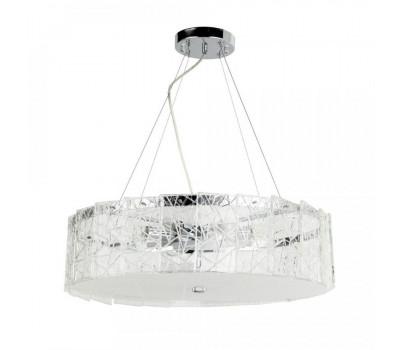 5056, Светильник подвесной Arte Lamp A1222SP-8CC GALATEA  Хром (пр-во Италия), A1222SP-8CC GALATEA, Arte Lamp, Люстры