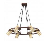 Подвесной светильник Lumion LUMION 4444/6  Коричневый (пр-во Италия)