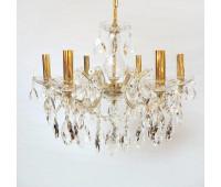 Люстра  Honsel-Hlight HL/GRK/1609-19/D55 L6 gold clear  Золотой (пр-во Германия)