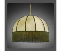 Подвесной светильник La Lampada L 389/8.26 Paralume Verde   Золото (пр-во Италия)