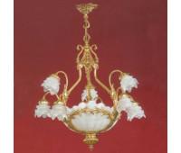 Люстра  Salvilamp 3534/70 oro  Золотой (пр-во Испания)
