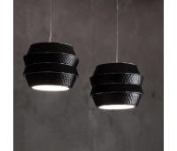 Подвесной светильник Rugiano W69/82 C black  Хром (пр-во Италия)