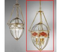 Подвесной светильник  Cremasco 2076/3S-OL.c.am  Золото (пр-во Италия)