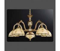 Люстра Reccagni Angelo L 6308/5  Французское золото (пр-во Италия)
