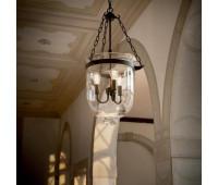 Подвесной светильник  Ideal Lux Entry SP3 Big  Черный матовый (пр-во Италия)