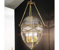 Подвесной светильник  Cremasco 2077/5S-BR.c.sm  Бронза (пр-во Италия)