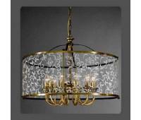 Подвесной светильник La Lampada L 116/12.40 Graniglia   Бронза (пр-во Италия)