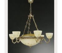 Люстра Reccagni Angelo L 6358/6+4  Французское золото (пр-во Италия)