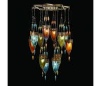 Подвесной светильник  Fine Art Lamps 718540-5ST  Сатинированная бронза (пр-во США)